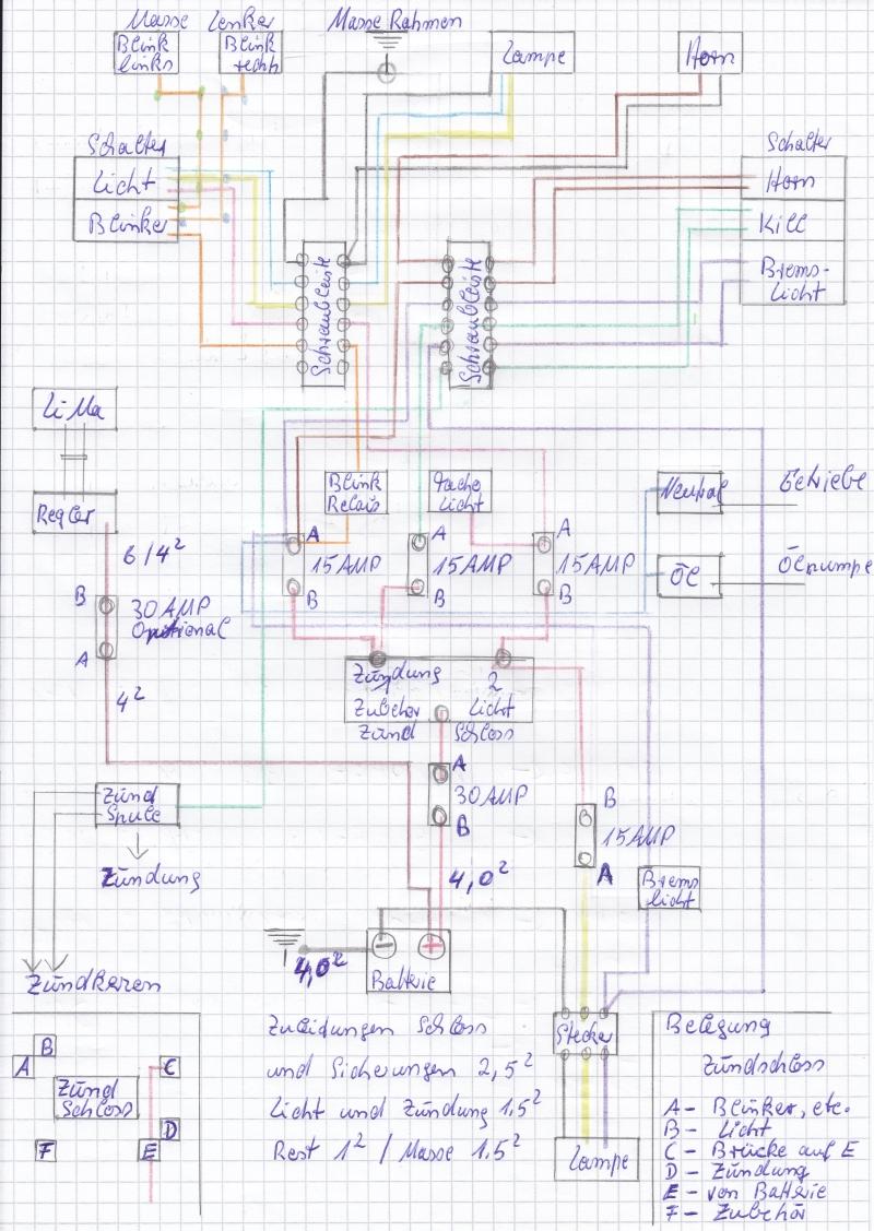 Schön Shovelhead Schaltplan Zeitgenössisch - Elektrische Schaltplan ...
